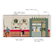 Food place project design by Devoto Design