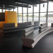 Qatar Olympic and Sports Museum arredi by Devoto Design