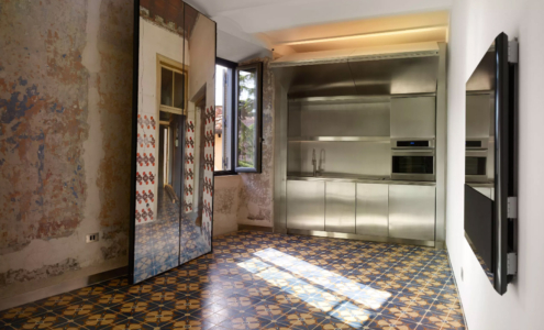"""Interior contract solutions: the use of stainless steel in Fendi """"Rhinoceros"""" Palace"""