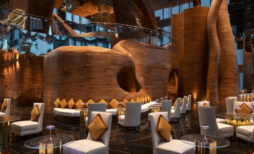 Double curvature, a special project for the Banyan Tree Doha Vertigo Restaurant cover image