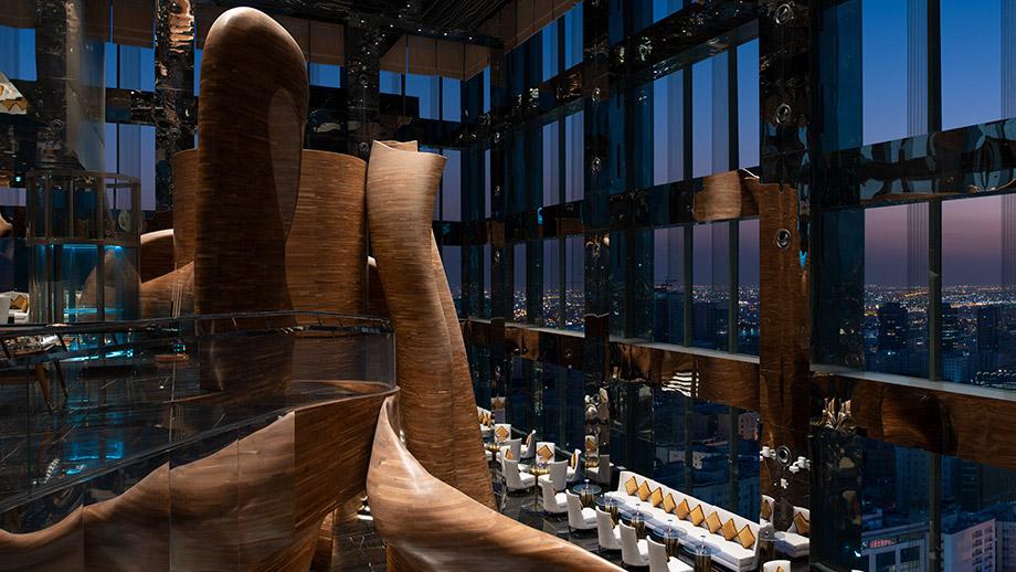Vertigo restaurant 28th piano del Banyan Tree Doha