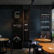 Marennà Assaggi wine display wall