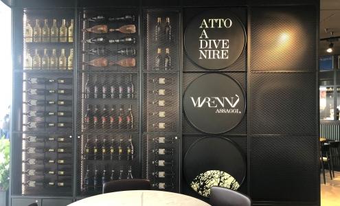 wine display wall Marennà Assaggi