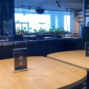 sedute e tavoli su misura ristorante